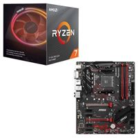 AMD Ryzen 7 3800X with Wraith Prism Cooler, MSI B450 Gaming...