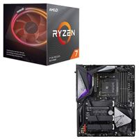 AMD Ryzen 7 3800X with Wraith Prism Cooler, Gigabyte B550...