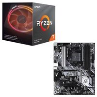 AMD Ryzen 7 3800X with Wraith Prism Cooler, ASRock B550 Phantom Gaming 4, CPU / Motherboard Bundle