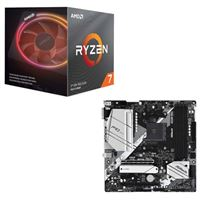 AMD Ryzen 7 3800X with Wraith Prism Cooler, ASRock B550M Pro4, CPU / Motherboard Bundle