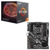 AMD Ryzen 7 3800X with Wraith Prism Cooler, MSI X570-A Pro, CPU / Motherboard Bundle