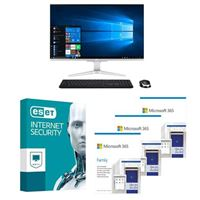 Acer Aspire C27 All-in-One bundled with Microsoft 365 Family 3x 1 Year and ESET Internet Security 1x 3 Years