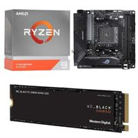 AMD Ryzen 9 3950X, ASUS B550-I ROG Strix Gaming, WD Black SN850 1TB SSD, Computer Build Bundle