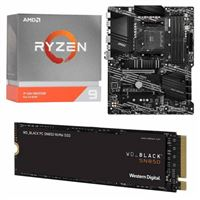 AMD Ryzen 9 3950X, MSI B550-A Pro, WD Black SN850 1TB SSD, Computer Build Bundle