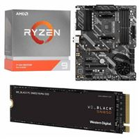 AMD Ryzen 9 3950X, MSI X570-A Pro, WD Black SN850 1TB SSD, Computer Build Bundle