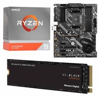 AMD Ryzen 9 3950X, MSI X570-A Pro, WD Black SN850 2TB SSD, Computer Build Bundle